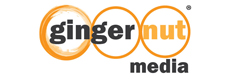 Ginger Nute Media logo.
