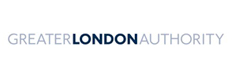 Greater London Authority logo.